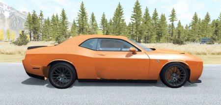 Скачать мод Dodge Challenger SRT Hellcat (LC) v.2 для BeamNG Drive v. 0.13-0.14
