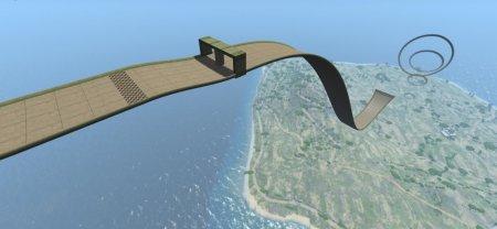 Скачать мод карта «Small Island Tracks» для BeamNG Drive v. 0.14