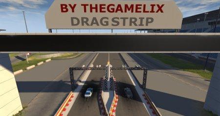 Скачать мод карта «Austrian Dragstrip» версия 3.0 для BeamNG Drive v. 0.14
