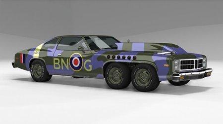 Скачать мод Bruckell Firehawk V12 для BeamNG Drive v. 0.14