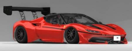Скачать мод 2015 Ferrari J50 для BeamNG Drive v. 0.15