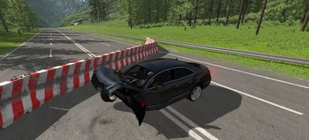 Скачать мод Mercedes-Benz CLS 63 AMG для BeamNG Drive v. 0.15