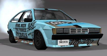 Скачать мод Volkswagen Scirocco II 1981-1992 версия 15.02.19 для BeamNG Drive v. 0.15