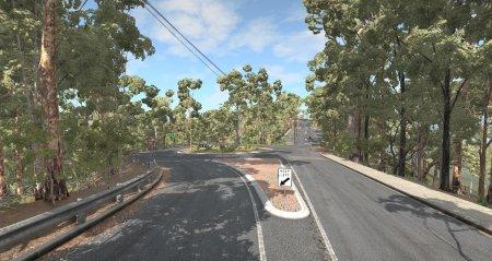 Скачать мод карта «Mount Coot-tha» для BeamNG Drive v. 0.15