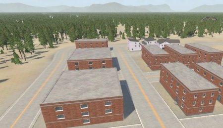 Скачать мод карта «West Flatcoast USA» для BeamNG Drive v. 0.15