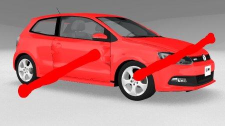 Скачать мод «Volkswagen Polo GTI» для BeamNG Drive v. 0.15