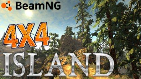 Скачать мод карта «4x4 Island» для BeamNG Drive v. 0.15