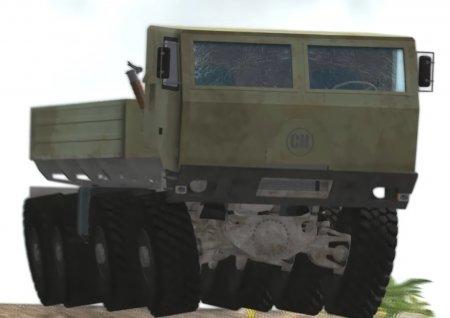 Скачать мод «CrashHard 8x8 BigRig Truck» версия 1.06 для BeamNG Drive v. 0. ...