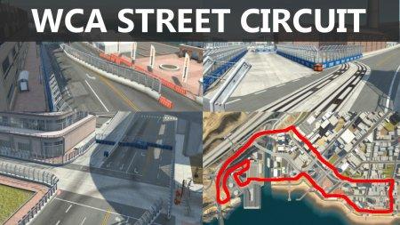 Скачать мод карта «West Coast Street Circuit» для BeamNG Drive v. 0.17