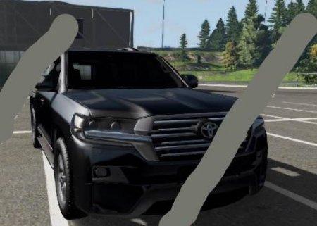 Скачать мод Toyota Land Cruiser 200 для BeamNG Drive v. 0.18