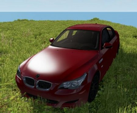 Скачать мод BMW M5 E60 для BeamNG Drive v. 0.18