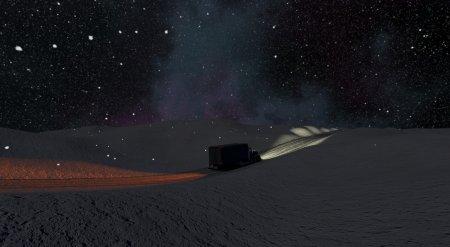 Скачать мод карта «Ice Road Truckers» для BeamNG Drive v. 0.18